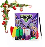 Zhengbenchang Stage Magic Props Set, Big Gift Box Adult Children Magic Toy Gift, Emocionantes Accesorios de Trucos de Magia, para Espectáculo Fácil de Realizar para Principiantes (B)