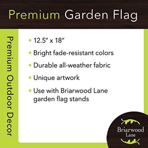 Briarwood Lane Birds and Lilacs Spring Garden Flag Birdhouse Floral Cardinal 12.5