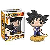 LUGJ Funko Pop Dragon Ball Kawaii Q Versión Nendoroid Anime Figura Goku Somersault Cloud Boxed Pop V...