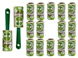 remake Set Spazzola Adesiva in Plastica 95% Riciclata (16 Rotoli+ 2 Manici. 24 Fogli). Rullo levapelucchi...
