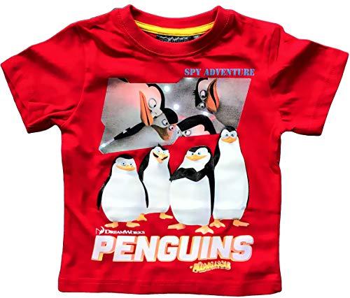 Pinguïns uit Madagaskar T-shirt kinderen maat 98 104 110 116 128 jongens en meisjes