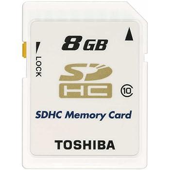TOSHIBA SDHCメモリカード Class10 8GB SD-FX008G