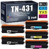 WedInk WE-5-Pack-TN-431(BK/C/M/Y)