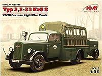 ICM 1/35 ドイツ オペル 消防車 2.5-32KzS8型 プラモデル 35403