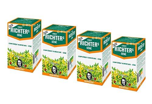 Lote de 2 cajas Ernst Richter Senado 30 g – 100% a base de plantas naturales | Especial para tránsito y adelgazante | 2 x 20 bolsas de filtros de 1,5 g (Lot de 4)