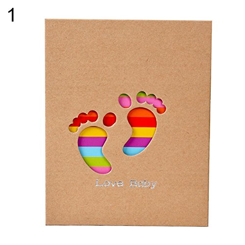 wiFndTu Álbum, 100 páginas Colorido Suave Animal Familia Bebé Foto Almacenamiento Titular...