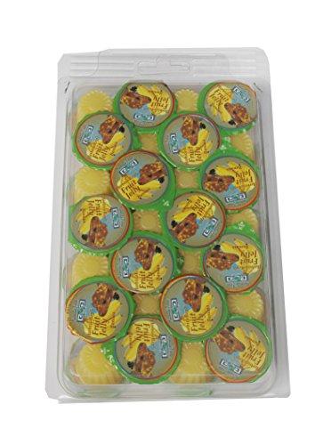 Namiba Terra 70204 Vorteilspack, 28 Stück Jungle Shop Herbivorep, Frucht Jelly Banane, für Reptilien, 16 g pro Stück