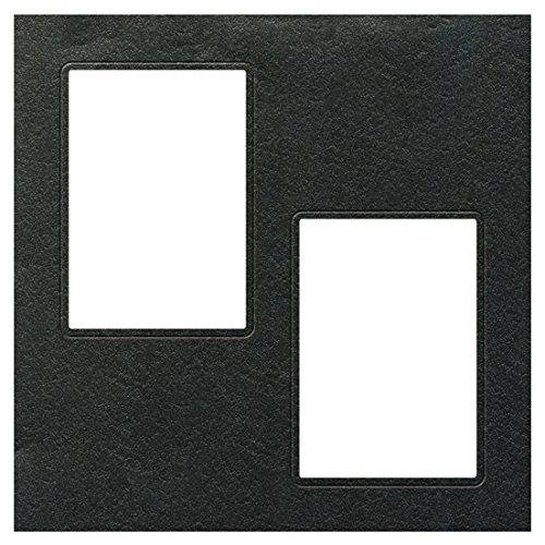 TAKENO アルバム ヒンジアルバム中枠 四切用 2L 黒(HGYB) 610-0010
