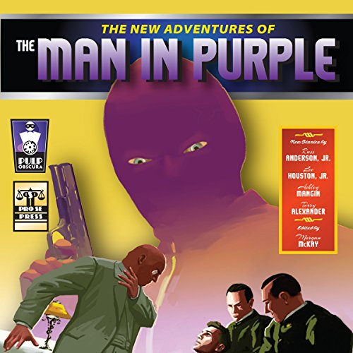 Couverture de The New Adventures of the Man in Purple