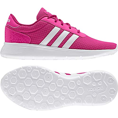 adidas Damen Lite Racer W AW3834 Sneaker Low Hals, Pink (Rosimp/ftwbla/rosfue), 38 EU
