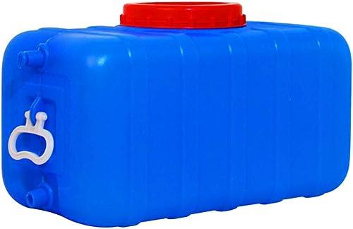 JB-Shuixiang Réservoir d'eau De Ménage épais en Plastique Rectangulaire avec Seau en Plastique, Réservoir De Stockage d'eau Anti-age, Bleu (Taille   100l)