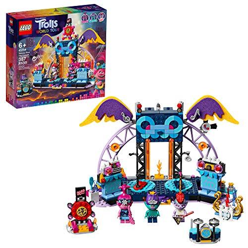 LEGO Trolls World Tour 41254 Volcano Rock City Concierto (387 piezas)