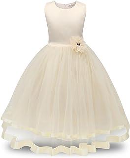 9e22b20a514 Amazon.fr   robe blanche fille 14 ans - Beige