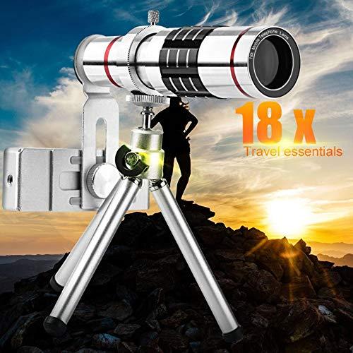 Mobiele telefoon Lenzen 18X Telescoop Camera Zoom Optische Mobiele Telefoon Telefoon Telefoon Lens voor Iphone Samsung Huawei met Mini Statief