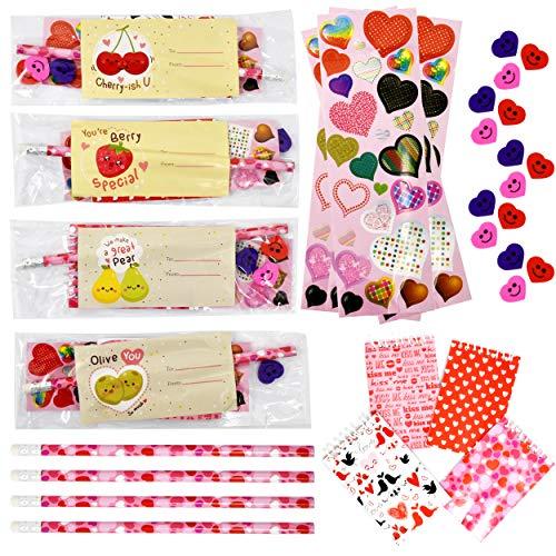 Valentine Classroom Exchange Cards Set