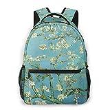Van Gogh - Mochilas de viaje para colegio, mochila impermeable para computadora...
