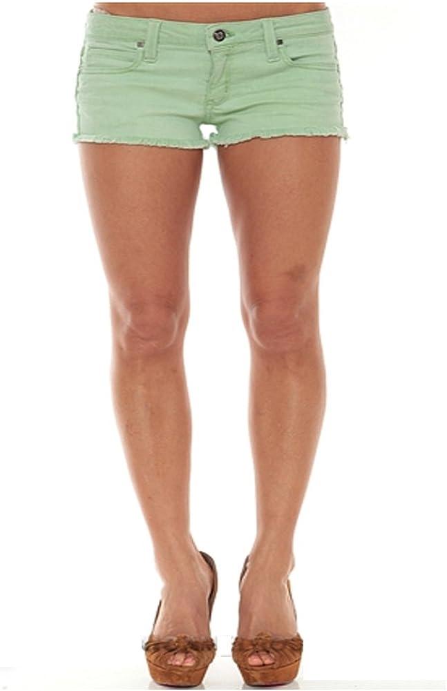 Frankie B. Summer Spasm price Girl Limited Special Price Denim Mint Shorts