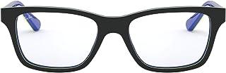Ray Ban Occhiali da bambini korrektion ry1536Top Dark Grey On Blue