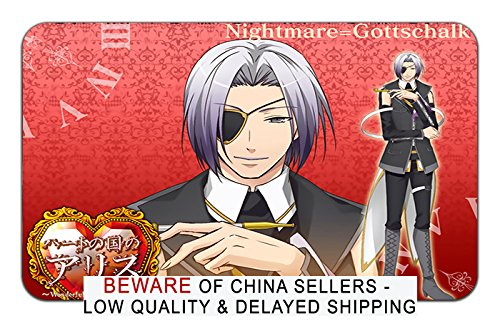 Heart No Kuni No Alice Anime Stylish Playmat Mousepad (24 x 14) Inches [PM] Heart No Kuni - 46