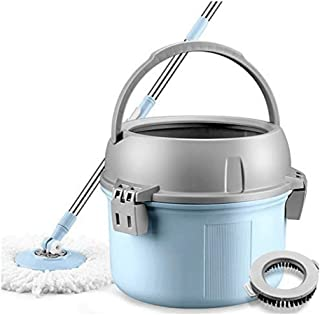 Super Spin Mops 360 Degree Spinning Mop Bucket Home Cleaning
