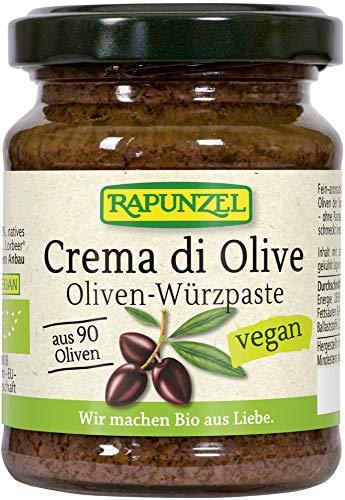 Rapunzel Bio Crema di Olive, Oliven-Würzpaste (2 x 120 gr)