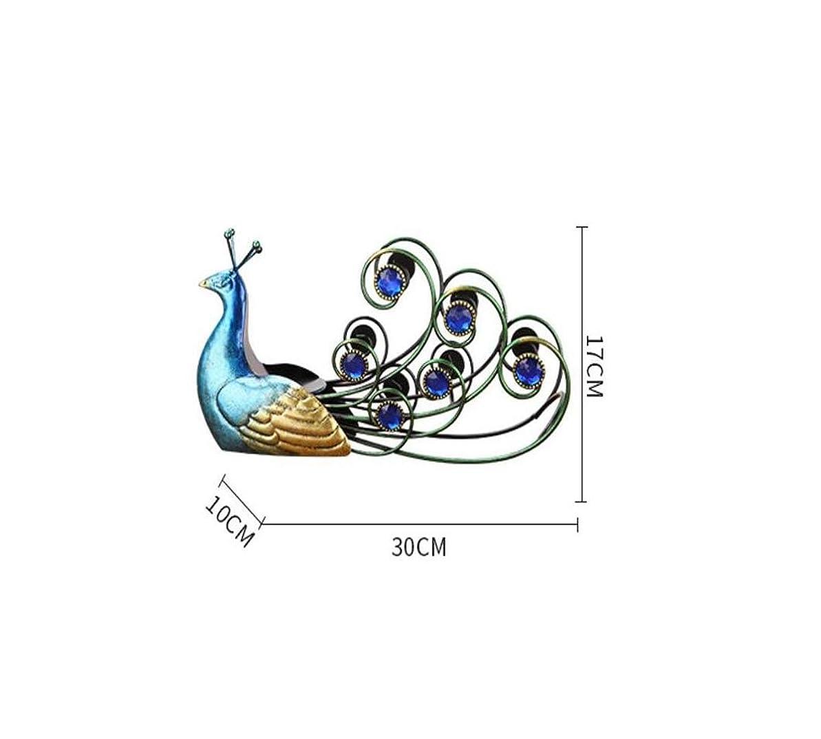 条約メトロポリタン音節ZY-YY シミュレーションワインラック動物の装飾、ワインボトルワインラック30 * 17 * 10センチメートル