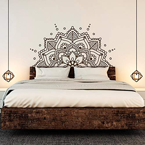 DesignQualityService | Mandala Wandtattoo | Wandaufkleber Dekor | Wandsticker kp38 (100 cm x 200 cm)