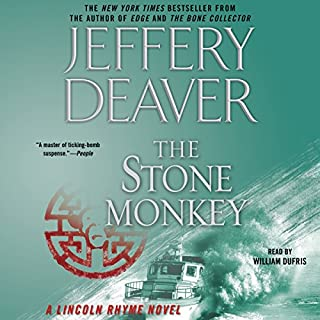 Stone Monkey audiobook cover art