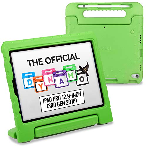Cooper Dynamo [丈夫なキッズケース] iPad Pro 12.9第3世代2018用保護ケース | 子供に安全なカバー:スタン...