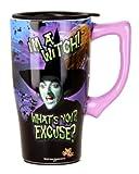 Wizard Of Oz I'm a Witch Travel Mug, One Size, Purple