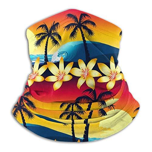 Ginger-Ale Bufanda De Cuello De Patrón De Origami para Hombres Y Mujeres Cara Boca Cubierta Pasamontañas Sombreros para Polvo Viento Protección Solar Calentador De Cuello