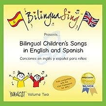 LOVED BY PARENTS! Children's Songs in Spanish   Canciones Infantiles Para Niños En Español   BilinguaSing CD (VAMOS Vol.2)