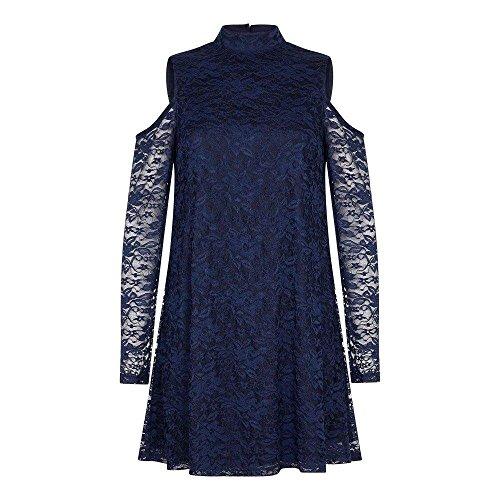 (メラ ロンドン) Mela London レディース ワンピース・ドレス ワンピース Cold Shoulder Lace Dress [並行...