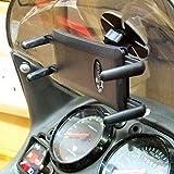Buybits Adhésif sur Fin Anti-dérapant Phone Vélo Scooter Support - Plat & Incurvé Surfaces