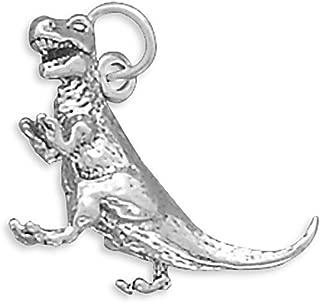 Corinna-Maria 925 Sterling Silver Tyrannosaurus Rex Dinosaur Charm T. Rex