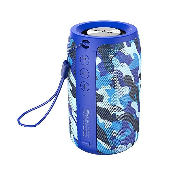 Wireless Bluetooth Speakers Zealot S32 Portable Speaker Hand Free Calls/Micro SD Card/U Disk/Line-in Modes Competible for iOS Andriod