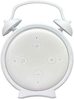 Suporte De Mesa Splin para Echo Dot 3 Amazon modelo Alarme V2.0 (branco)