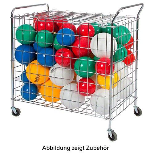 Ballwagen Standard für Sporthallen Gitterwagen Vielzweckwagen Ballbox, fahrbar