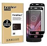 iVoler [2 Pack] Pellicola Vetro Temperato per Motorola Moto Z2 Play, [Copertura Completa] Pellicola Protettiva Protezione per Schermo per Motorola Moto Z2 Play