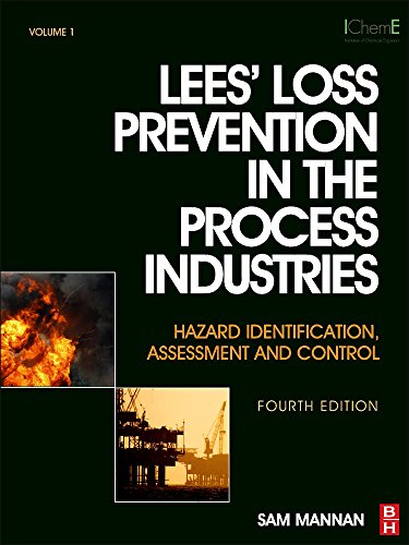 Lees' Loss Prevention in the Process Industries: Hazard Identification, Assessment and Control (3 Vo