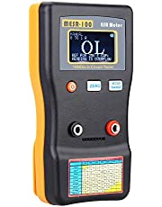 Capacitancia de ESR de MESR-100 Ohm metro profesional medición de capacitancia resistencia condensador circuito probador