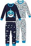 Boys Shark Pajamas Christmas Children Clothes Toddler...