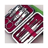 NNNQO Set De Manicura,Limpiador Esterilizador para Nail Art Salon para Cutter Conjunto De Manicura Sterelizator Instrumento Joyería Reloj Gafas Lavadora Cortaúñas Precisas Y Cortaúñas Cortauñas Uñas