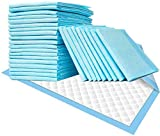 Disposable Underpads 50PCS Incontinence Bed Pads 24'X36' Disposable Changing Pads Ultra Absorbent Waterproof Incontinence Furniture Protection