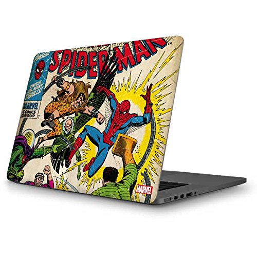 Skinit Decal Laptop Skin for MacBook Pro 13-inch (2014) - Officially Licensed Marvel/Disney Spider-Man vs Sinister Six Design
