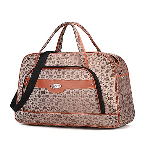 Impermeable de gran capacidad de las mujeres ligero bolsa de viaje de fin de semana grandes bolsas de lona femenina suave moda cremallera multifuncional mano equipaje bolso de hombro