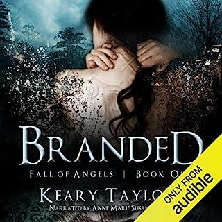 Branded audiobook cover art