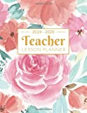 Teacher Lesson Planner : Weekly and Monthly Calendar Agenda: Academic Year July 2019 through June 2020 | Includes Quotes & Holidays | Beautiful ... Cover (2019-2020) | 8.5 x 11 inches 150 Pages