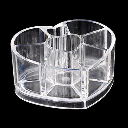 LKJHG Herz Lippenstift Make-up Organizer Display Aufbewahrungsbox Sortimentsregal