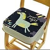 Kindersitzerhöhung - Tragbares Stuhlkissen mit verstellbaren Gurten - für kleine Kinder